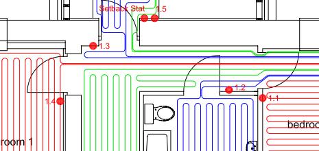 underfloor heating from barres. Black Bedroom Furniture Sets. Home Design Ideas